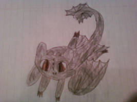 chibi toothless by 3and4fan