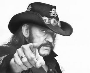 Lemmy Kilmister from Motorhead by Pat-Purcell