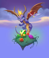 Spyro by Htg17