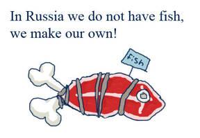 Russian Fish by damnitsasha