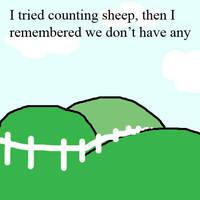 No Sheep by damnitsasha