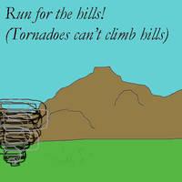 Run for the hills by damnitsasha