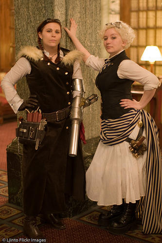 Putting the Punk in Steampunk by damnitsasha