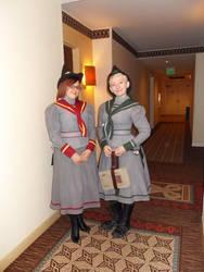 Victorian Hogwarts Students by damnitsasha
