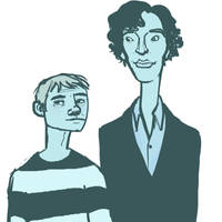 More Sherlock doodles by damnitsasha