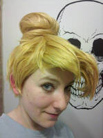 Tinkerbell wig by damnitsasha