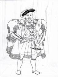 Henry VIII by damnitsasha