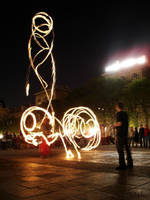 Fire poi, Notre Dame by Janneman3k