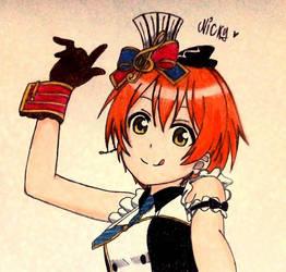 Rin Hoshizora by xNickyChan