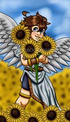 Sunflower Pit by xBooxBooxBear