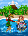 Link's Awakening by xBooxBooxBear