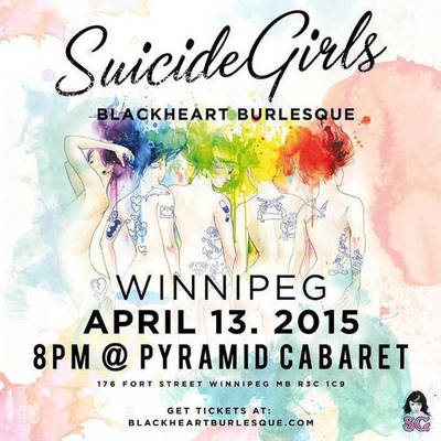 Come out for SuicideGirls April 13th by VisualEyeCandy