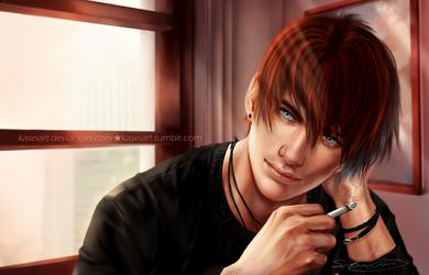 Hunter  by KaseiArt
