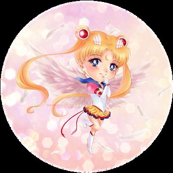 Eternal Sailor Moon by KaseiArt