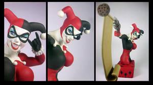 Harley Quinn Bust by eskulltor