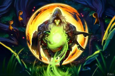Bard: The Wandering Caretaker by robynlauart