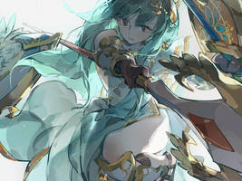Puzzle and Dragons - Athena non by nnnnoooo007
