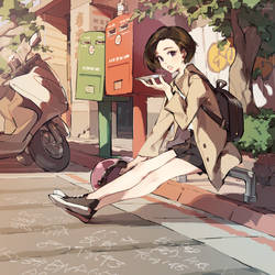 TAIWAN OfficeLady - illegal parking by nnnnoooo007