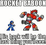 MMX - Contest : Rocket Baboon by Dark-Ax