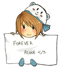 Forever Alone by Boba-MilkTea