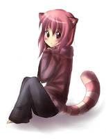 Gijinka Raccoon : Kirune by liento