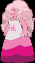 Pink Rose Quartz by AuroraMisa