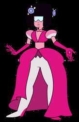 Pink Garnet by AuroraMisa
