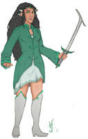 Emerald Star by Goblin-Queenie