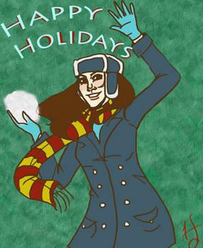 Holiday Card by Goblin-Queenie
