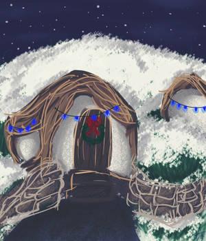 A Very Shire Christmas by Goblin-Queenie