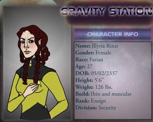 ST-Gravity Illyria Ref by Goblin-Queenie