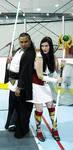 Jedi and Codex at SoMD Comic Con by Goblin-Queenie