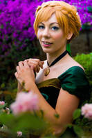 Anna coronation Frozen Cosplay by Phadme