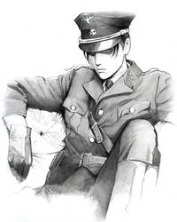 Levi uniform by Redwarrior3