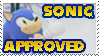 Sonic approved Stamp by ghostanjo