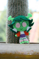 Chibi Mars with Cactus by fyre-flye