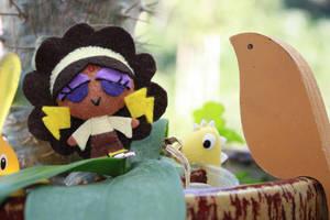 Chibi Jupiter's Garden Party by fyre-flye