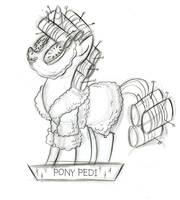 Pony Pedi by fyre-flye