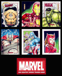 Marvel's Greatest Heroes 2012 Sampler by GeorgeCalloway