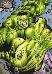 Hulk SMASH!!! by GeorgeCalloway