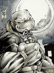 Mikey sketch card by GeorgeCalloway