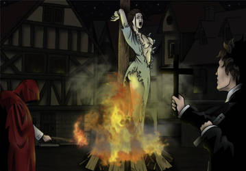 Burn the witch by Sakatak
