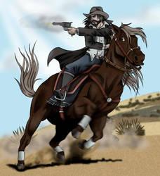 Western gun by Sakatak
