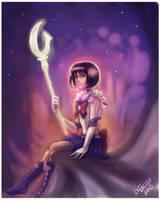 Sailor Saturn by Linnpuzzle