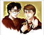Boys of the prophecy by Linnpuzzle