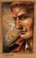 John Constantine by Linnpuzzle