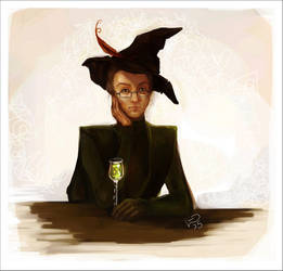 McGonagall by Linnpuzzle