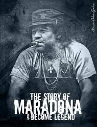 Maradona: The Story of by imranabduljabar