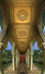 Moroccan Pavillion by imranabduljabar