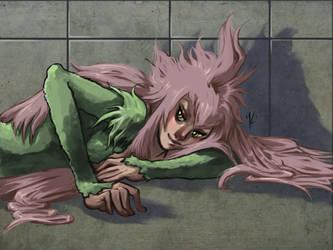 Zabimaru: Mitsuki Saiga by heinrichS